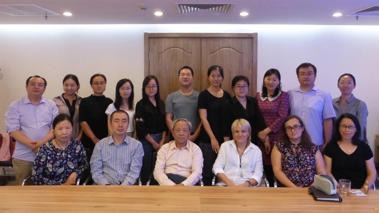 Работно посещение в Института за световна история – Китайска академия за обществени науки